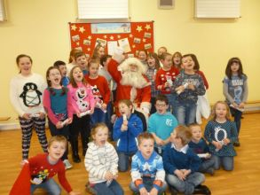 Christmas Party.......with a very special visit from Santa!